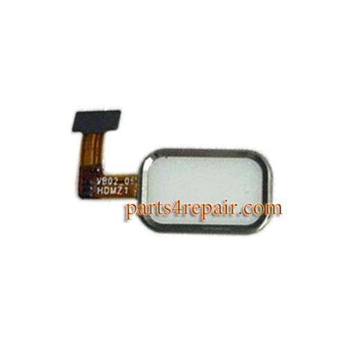 Home Button with Flex Cable for Meizu MX4 Pro -White