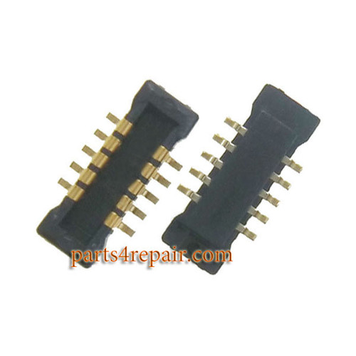 10pin Touch Screen FPC Connector on Flex Cable for Meizu MX4 Pro -5pcs