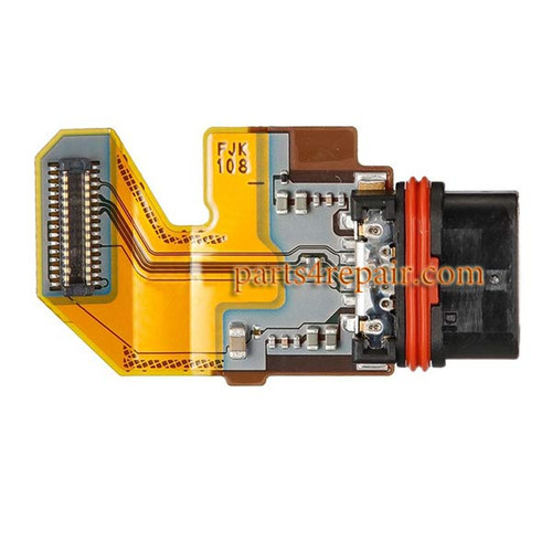 Dock Charging Flex Cable for Sony Xperia Z5 from www.parts4repair.com