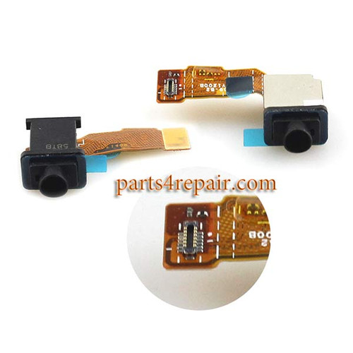 Earphone Jack Flex Cable for Sony Xperia M5 from www.parts4repair.com
