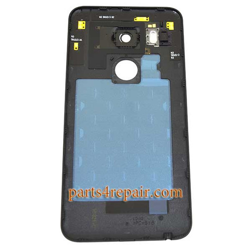Back Cover with Camera Lens for LG Nexus 5X H790 H791 -Black