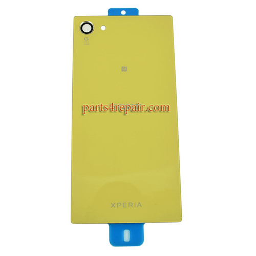 Back Cover OEM with Camera Lens for Sony Xperia Z5 Compact (Z5 mini) -Yellow