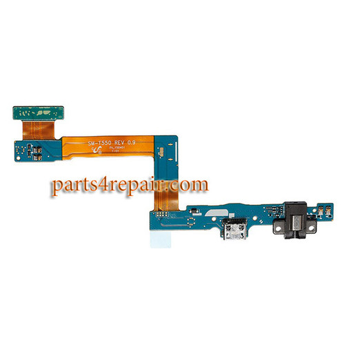 Samsung Galaxy Tab A 9.7 T550 Dock Charging Flex Cable from www.parts4repair.com