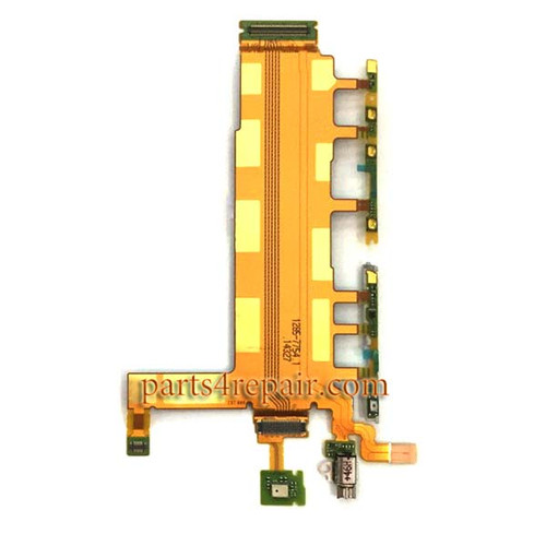 Motherboard Flex Cable for Sony Xperia Z3 Dual D6633 from www.parts4repair.com