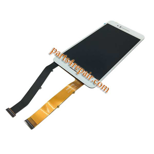 Complete Screen Assembly for HTC Desire 728 Dual SIM -White