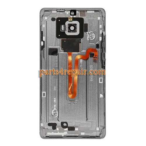 Back Housing Cover with Fingerprint Flex Cable for Huawei Mate S -Gray
