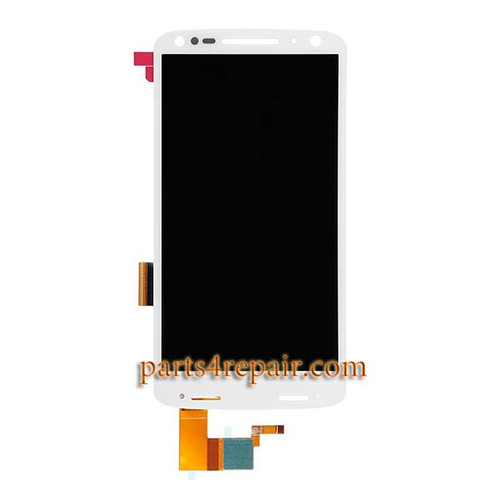 Complete Screen Assembly for Motorola Droid Turbo 2 XT1585 from www.parts4repair.com
