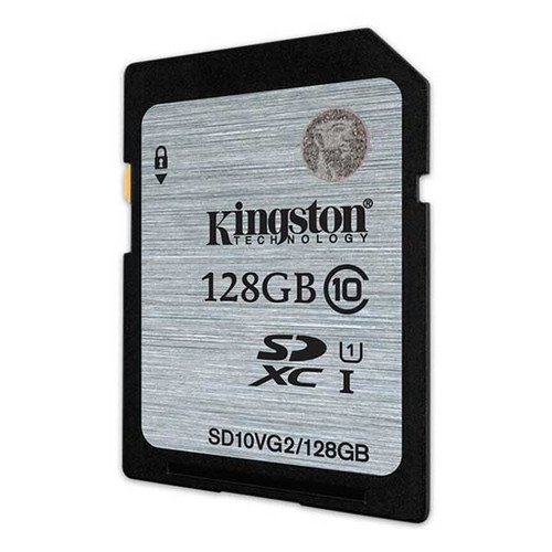 Kingston 128GB SDXC 80MB/s UHS-I Flash Card