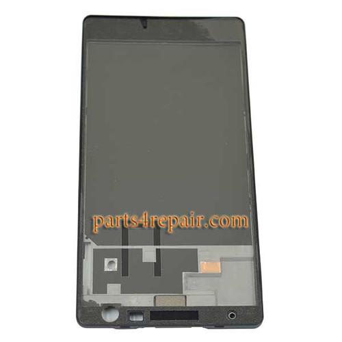 Full Housing Cover OEM for Nokia Lumia 730 -Black