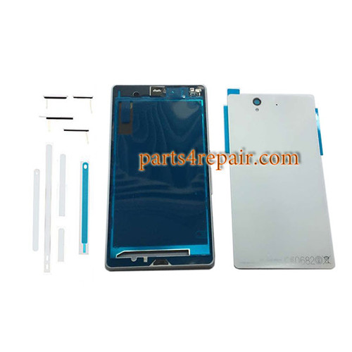 Full Housing Cover OEM for Sony Xperia Z L36H -White