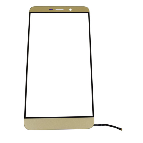 Front Glass with Keypad Flex Cable for Letv Le Max X900 -Gold