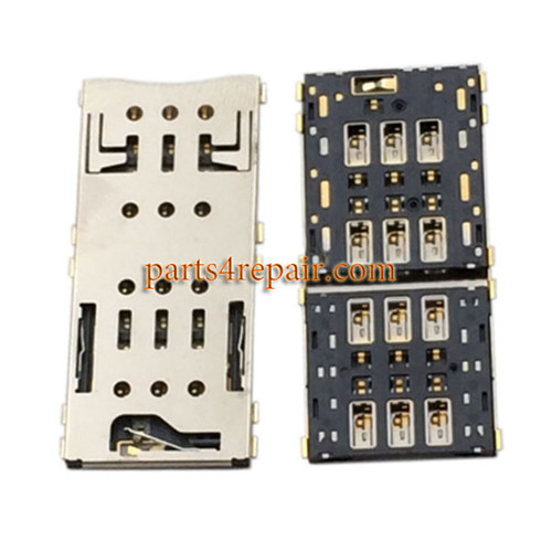 Dual SIM Card Reader for Sony Xperia C5 Ultra from www.parts4repair.com
