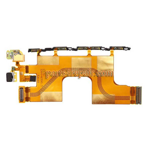 Motherboard Flex Cable for Sony Xperia Z3+ from www.parts4repair.com