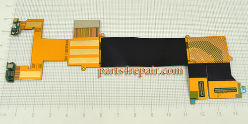 Slide Rail Flex Cable for Blackberry Priv