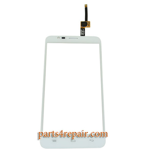 Touch Screen Digitizer for Alcatel OT-6042D (Refurbished) -White