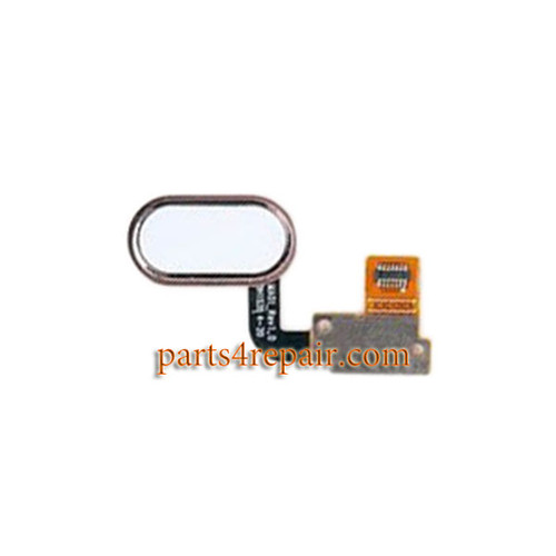 Home Button Flex Cable Replacement for Meizu M1 Metal - White