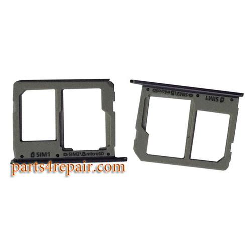 Dual SIM Tray for Samsung Galaxy A3100 A5100 A7100 -Gray