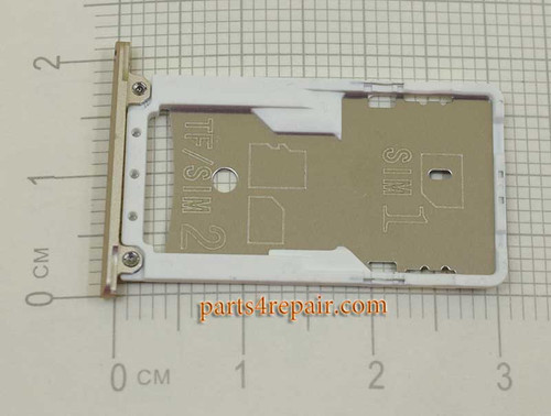 SIM Tray for Xiaomi Redmi Note 3 (Snapdragon / Pro / Kenzo version)