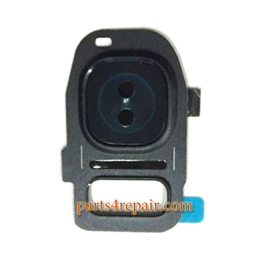 Camera Cover & Camera Lens for Samsung Galaxy S7 All Versions -Black