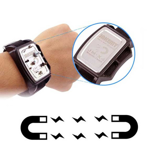 Magnetic Wrist Band for repairing watches