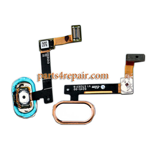 Home Button with Flex Cable for Oppo R9 (F1 Plus) from www.parts4repair.com