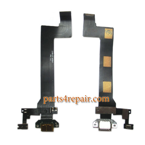 Dock Charging Flex Cable for Meizu Pro 5 from www.parts4repair.com