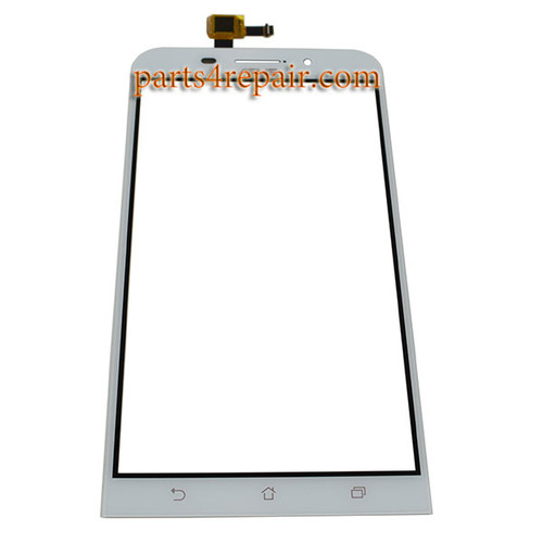 Touch Screen Digitizer for Asus Zenfone Max ZC550KL -White