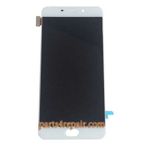 Complete Screen Assembly for Oppo R9 (Oppo F1 Plus) -White