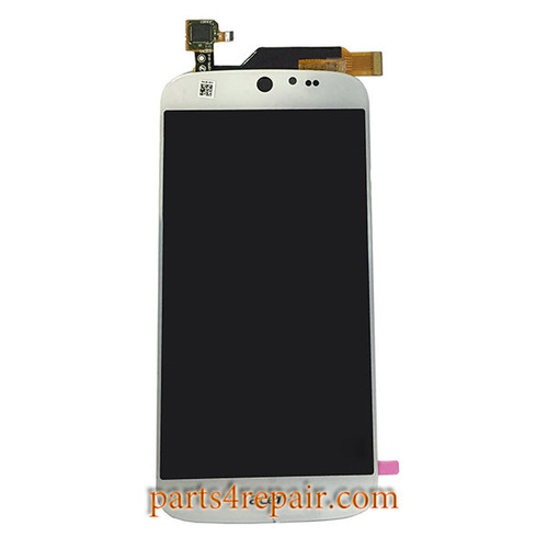 Complete Screen Assembly for Acer Liquid Jade S55 -White
