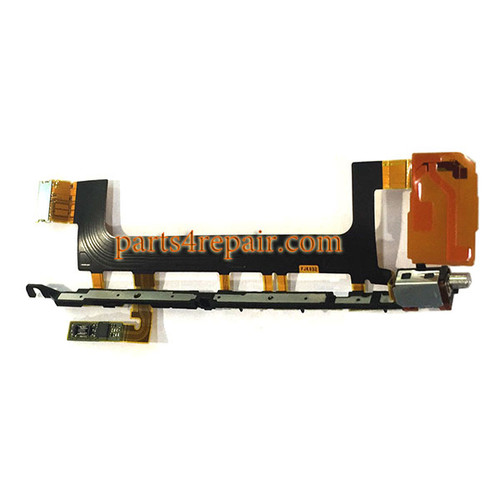 Side Key Flex Cable for Sony F8132