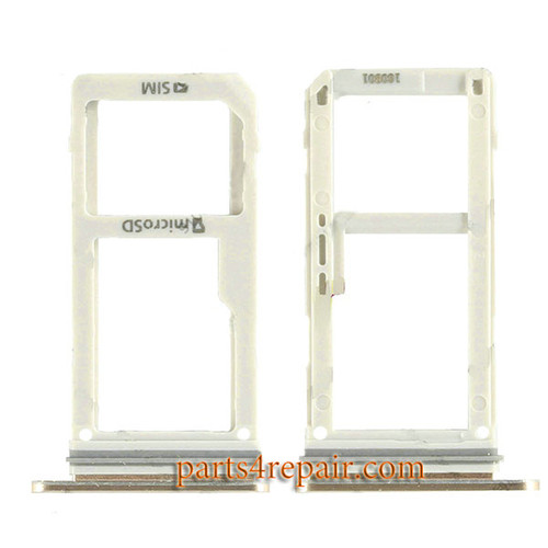 Dual SIM Tray for Samsung Galaxy Note 7 -Gold