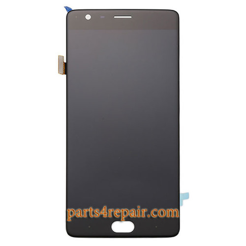 Complete Screen Assembly for Oneplus 3 from www.parts4repair.com