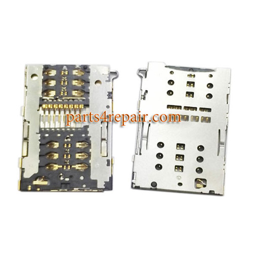 SIM Card Reader for Xiaomi Mi Max from www.parts4repair.com