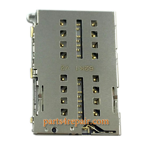 SIM Card Reader for Xiaomi Redmi 3 from www.parts4repair.com