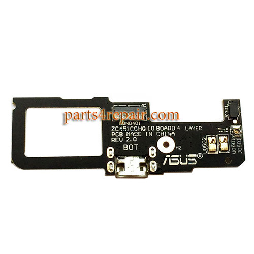 Dock Charging PCB Board for Asus Zenfone C ZC451CG