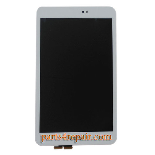 Complete Screen Assembly for Asus Memo Pad 8 ME581CL -White