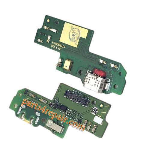 Dock Charging PCB Board for Huawei P9 Lite from www.parts4repair.com