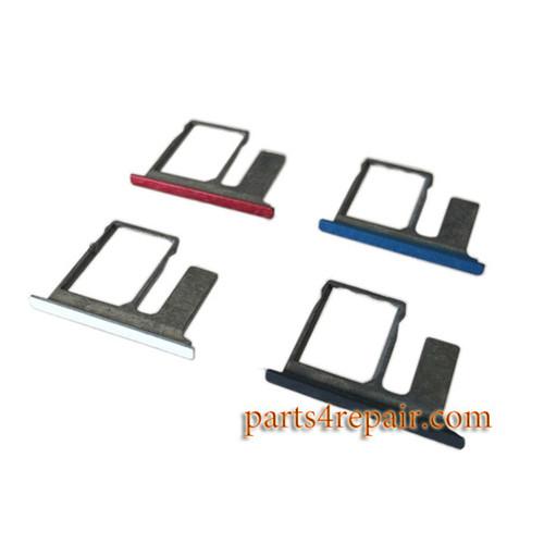 Single SIM Tray & TF Card Tray for HTC One E8 -Black