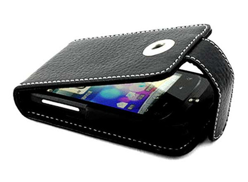 HTC Wildfire A3333 Leather Case Black
