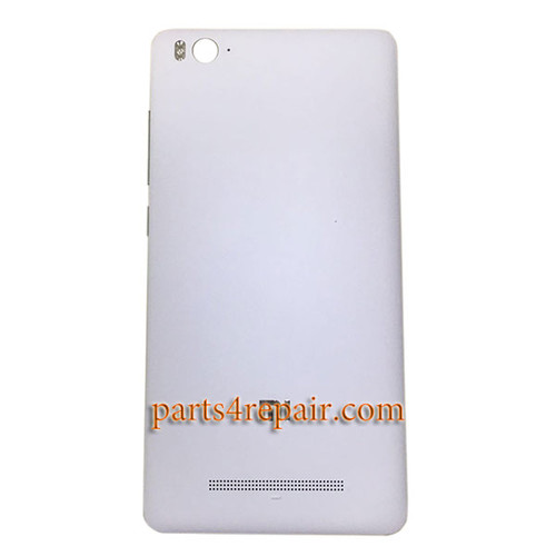 Back Cover with Side Keys for Xiaomi Mi 4c 4i -White