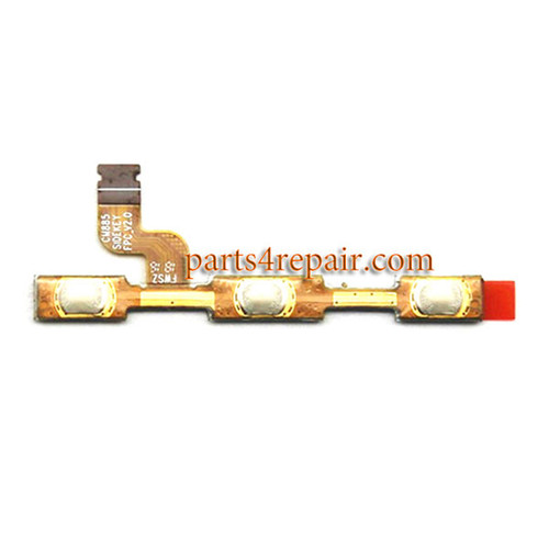 Side Key Flex Cable for Xiaomi Redmi Note 4 from www.parts4repair.com
