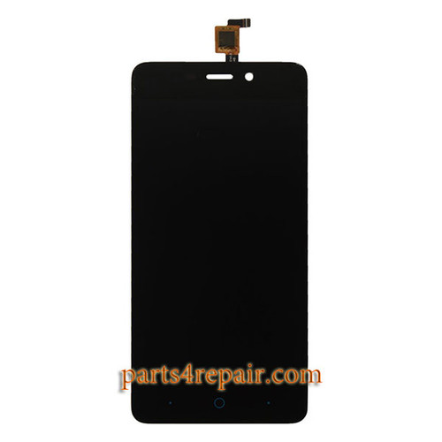 Complete Screen Assembly for ZTE Blade X3 / A452 -Black