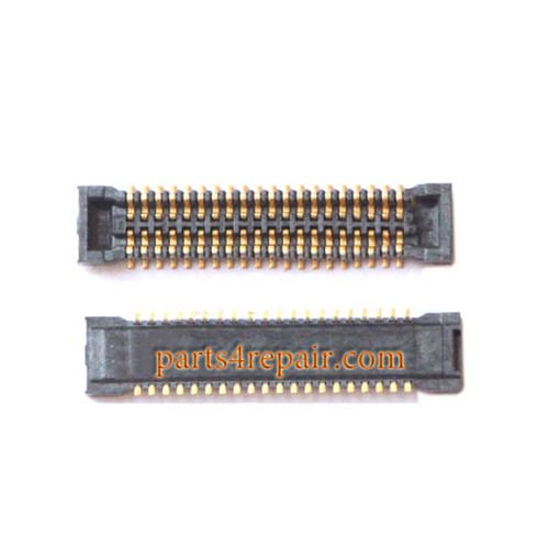 LCD FPC Connector on Flex Cable for Samsung Galaxy E7 from www.parts4repair.com
