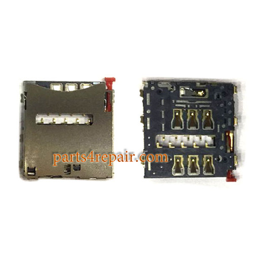 SIM Card Reader for Sony Xperia Z2 Z1 Compact Z1s from www.parts4repair.com