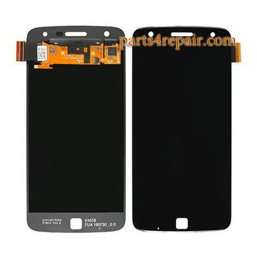 Complete Screen Assembly for Motorola Moto Z Play -Black