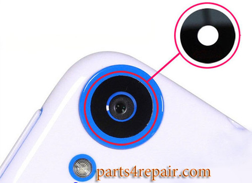 Camera Glass Lens with Adhesive for HTC Desire 820