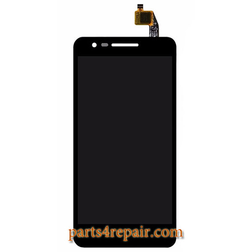 Complete Screen Assembly for Lenovo C2 k10a40 -Black