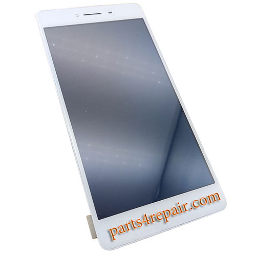 Complete Screen Assembly with Bezel for Oppo R7s from www.parts4repair.com