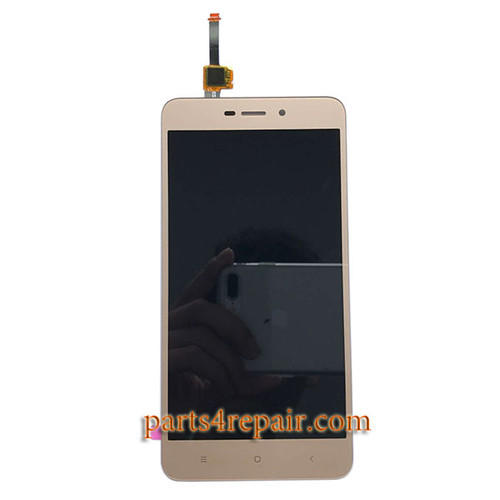 Complete Screen Assembly for Xiaomi Redmi 4A from www.parts4repair.com