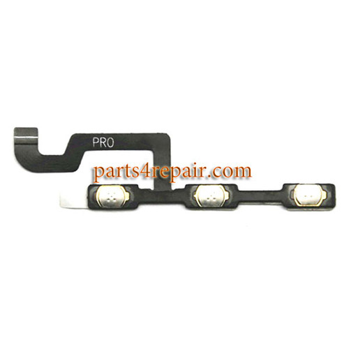 Side Key Flex Cable for Xiaomi Redmi Pro from www.parts4repair.com